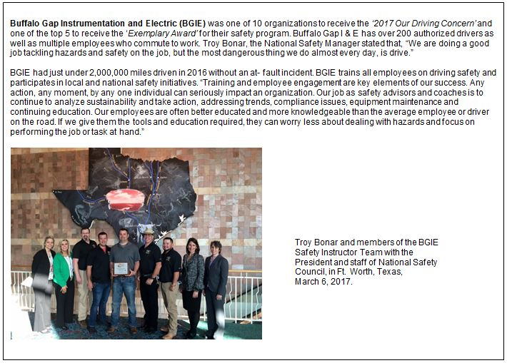 Member Recognition - West Texas AGC